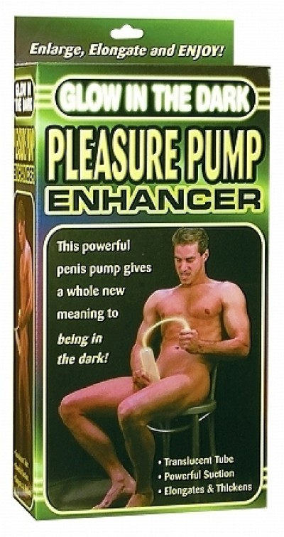 Glow In the Dark Pleasure Pump