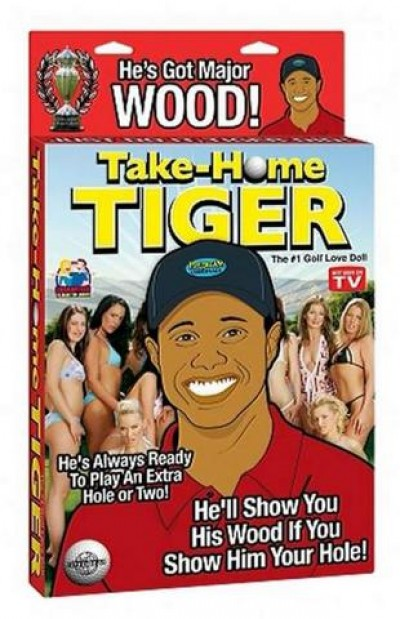 Tiger Take Home Blow Up Doll