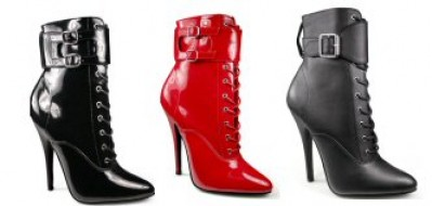 Domina - Women's Ankle Boot and Interchangeable Ankle Wrap