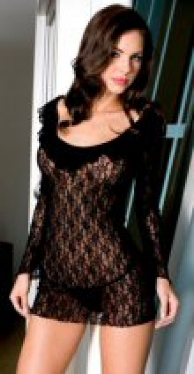 Long Sleeve Lace Baby doll